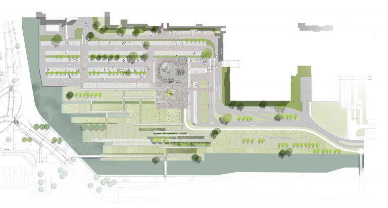 AMC-Health-Park-architecture-Maaiveld