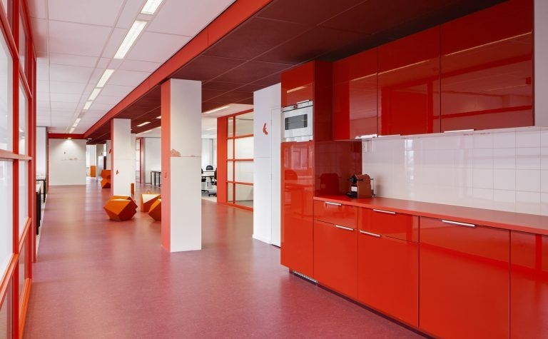 interieurarchitectuur Pamorama West Amsterdam door temp architecture