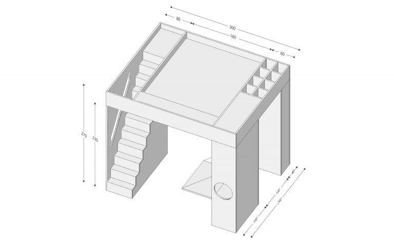 kastenwand interieur