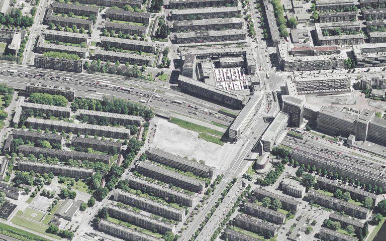 temp-architecture-Piet Paaltjesnpad-bestaand