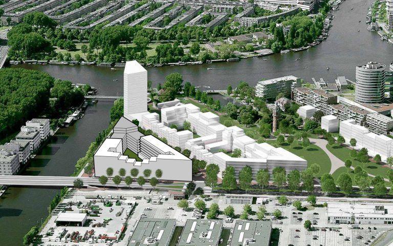 temp-architecture-amstelkwartier-8b-getrapt-model-impressie