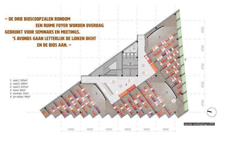 temp-Kleine Omval-plattegrond eerste verdieping